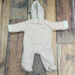 Footed One Piece Infant Heavyweight Fleece